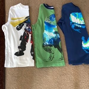 2 crazy 8 shirts 1 children place shirt